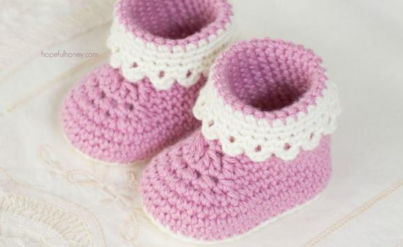 Crochet Baby Booties Designs screenshot 2