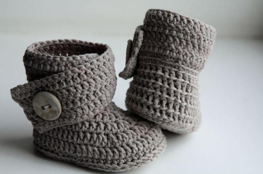 Crochet Baby Booties Designs screenshot 4