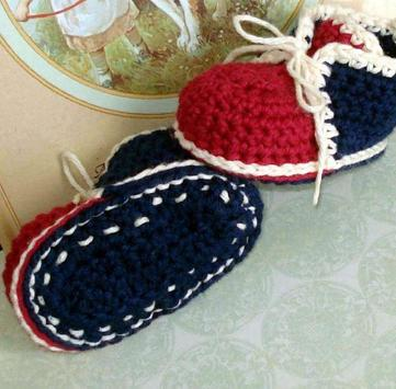 Crochet Baby Booties Designs screenshot 5