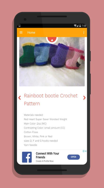 Crochet Baby Booties Designs for Android - APK Download