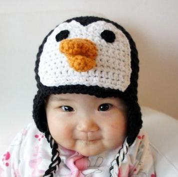 Crochet Baby Hat Animal poster