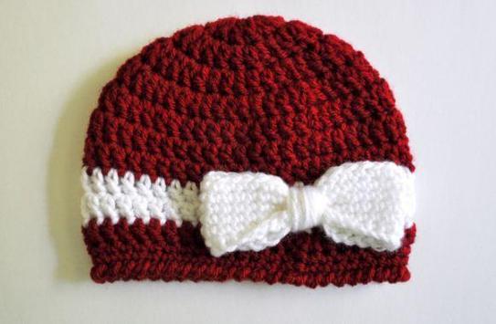 Crochet Baby Hat Patterns poster