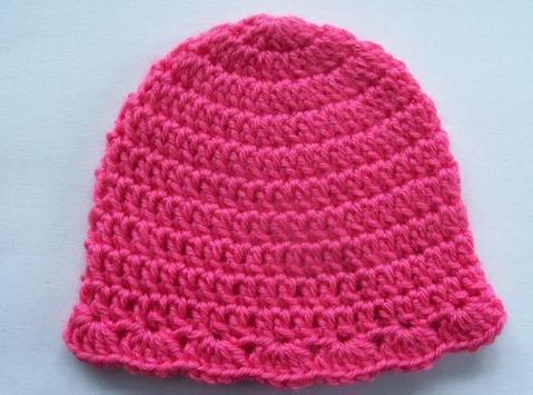 Crochet Baby Hat Patterns screenshot 1