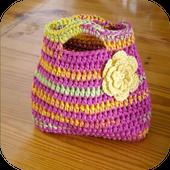 crochet bag patterns icon