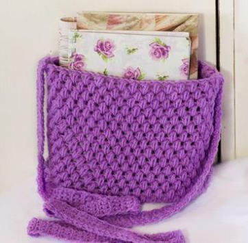 crochet bag patterns poster