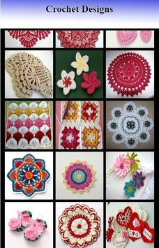 crochet designs poster