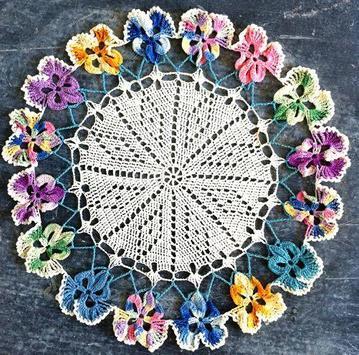 Crochet Doilies Idea screenshot 3