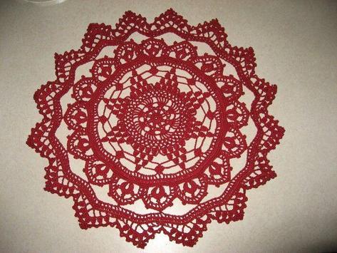 Crochet Doilies Idea screenshot 2