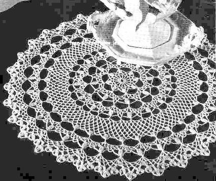 Crochet Doilies Idea screenshot 5