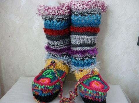 Pantuflas patrón crochet Descarga APK - Gratis Estilo de vida ...
