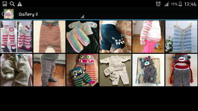 Crochet Pattern Child Pants apk screenshot