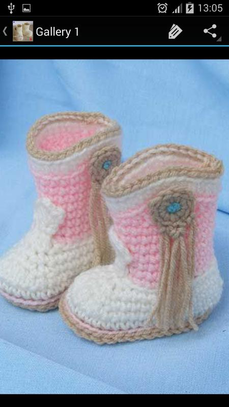 Crochet Pattern Baby Boots APK Download - Free Lifestyle APP for ...
