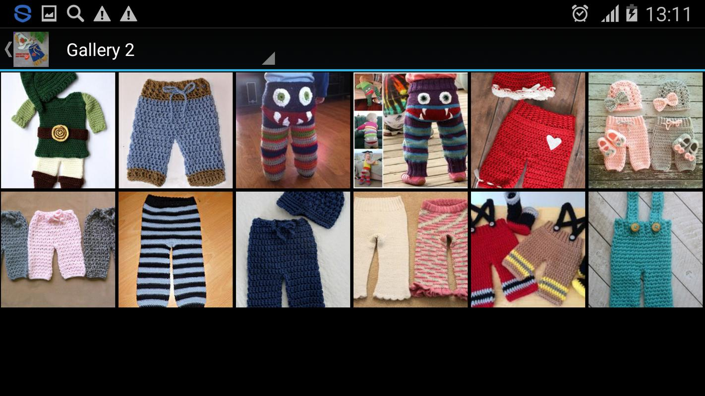 Crochet Pattern Baby Pants For Android Apk Download
