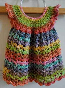 Crochet Pattern Baby Vests poster
