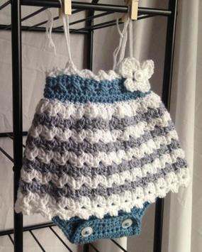 Crochet Pattern Baby Vests apk screenshot