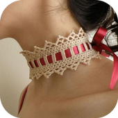 crochet pattern jewelry icon