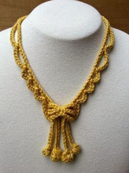 crochet pattern jewelry screenshot 4