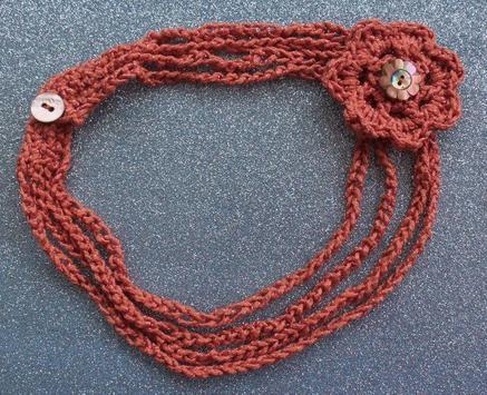 crochet pattern jewelry screenshot 5