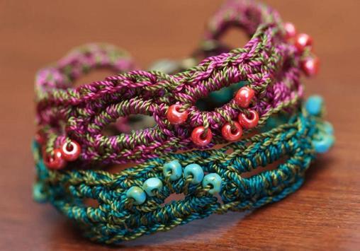 crochet pattern jewelry screenshot 1