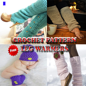 Crochet Pattern Leg Warmers icon