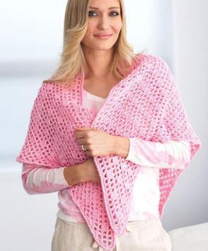 crochet shawl designs screenshot 3