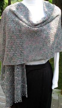 crochet shawl designs screenshot 4