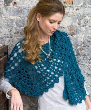 crochet shawl designs screenshot 5