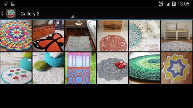 Häkelmuster Teppiche für Android - APK herunterladen