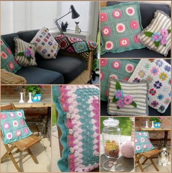 Crochet Pillow Ideas screenshot 1