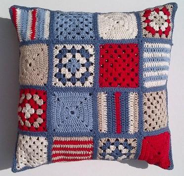 Crochet Pillow Ideas screenshot 5