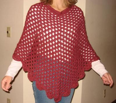 crochet poncho patterns poster