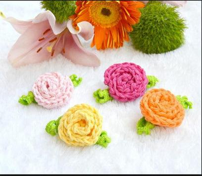 crochet rose ideas screenshot 5