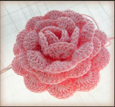 crochet rose ideas screenshot 2