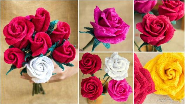 crochet rose ideas screenshot 3