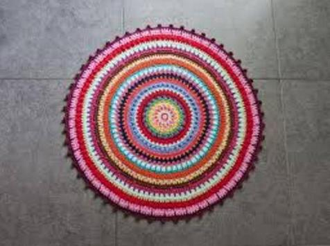 crochet rug models apk screenshot