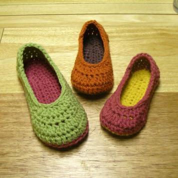 Crochet Slippers For Women screenshot 1