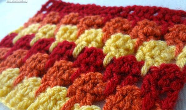 Crochet Stitch Design Ideas poster