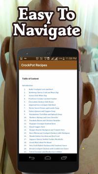 Simple Crockpot Recipes screenshot 1