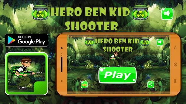 Hero Ben Kid Shooter screenshot 1