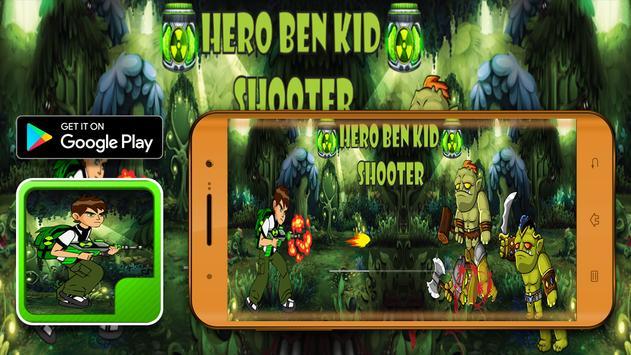 Hero Ben Kid Shooter screenshot 2