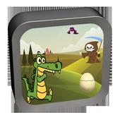 crocodile run - adventure icon