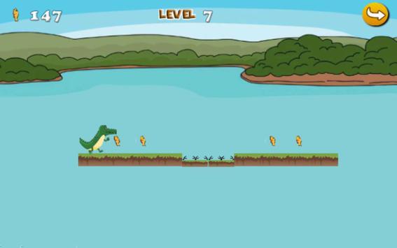 Crocodile Jungle Run 2 apk screenshot
