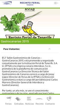 Recinto Ferial de Tenerife apk screenshot
