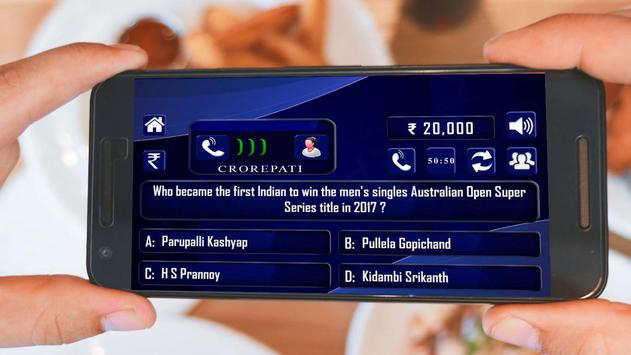 Crorepati 2018 : English हिंदी screenshot 18