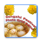 Dongzhi Festival Photo Grid Editor icon