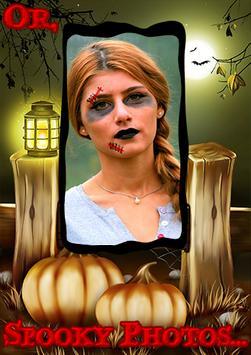 Halloween Photo Grid Editor screenshot 1