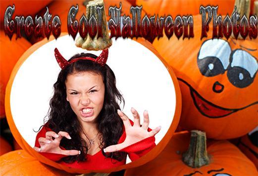 Halloween Photo Grid Editor screenshot 3