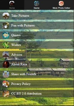 Hari Raya Photo Grid Editor poster