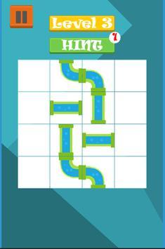 Crazy Pipes Puzzle 2D screenshot 2