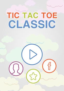 Tic Tac Toe Classic Puzzle Game poster